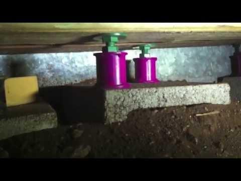 stubby jacks level pier and beam foundation