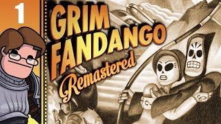 Let's Play Grim Fandango Remastered Part 1 (Patreon Chosen Game)