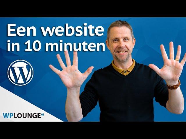 WordPress website maken? Ik laat het je zien! | 2020
