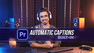 New Feature: Auto-Generate Capтions in Premiere Pro!
