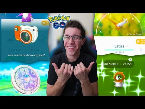 CHANGE YOUR TEAM / GO SNAPSHOT / SHINY LATIAS / CATCHING SHINY MELTAN (Pokémon GO)