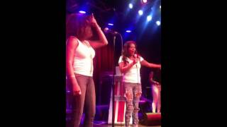 Betel and Leslie - Weak - SWV Maryland Live Karaoke