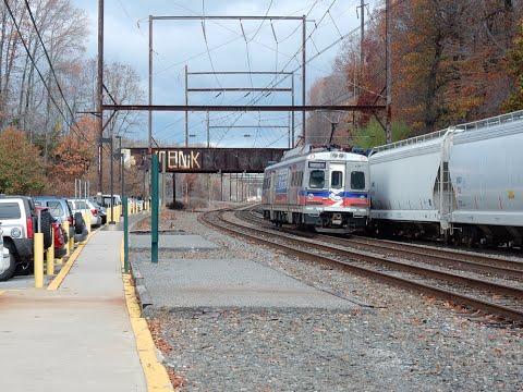 Railfan Veterans Day Riverline, NEC, SEPTA, & CSX