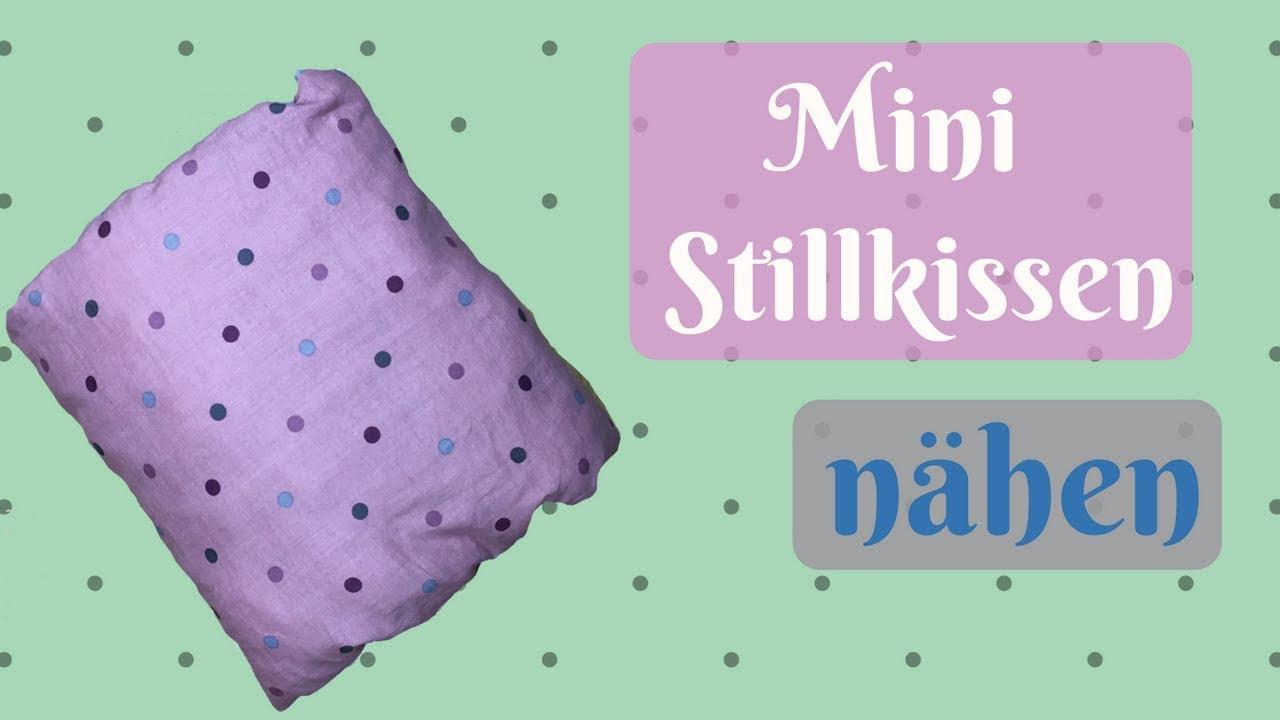 Top Mini - Stillkissen selber nähen / einfach Nähanleitung für KZ81