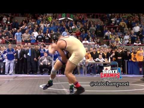 Detroit Catholic Central - Drew Garcia - OT win in the 2014 MHSAA Division 1 Wrestling Final