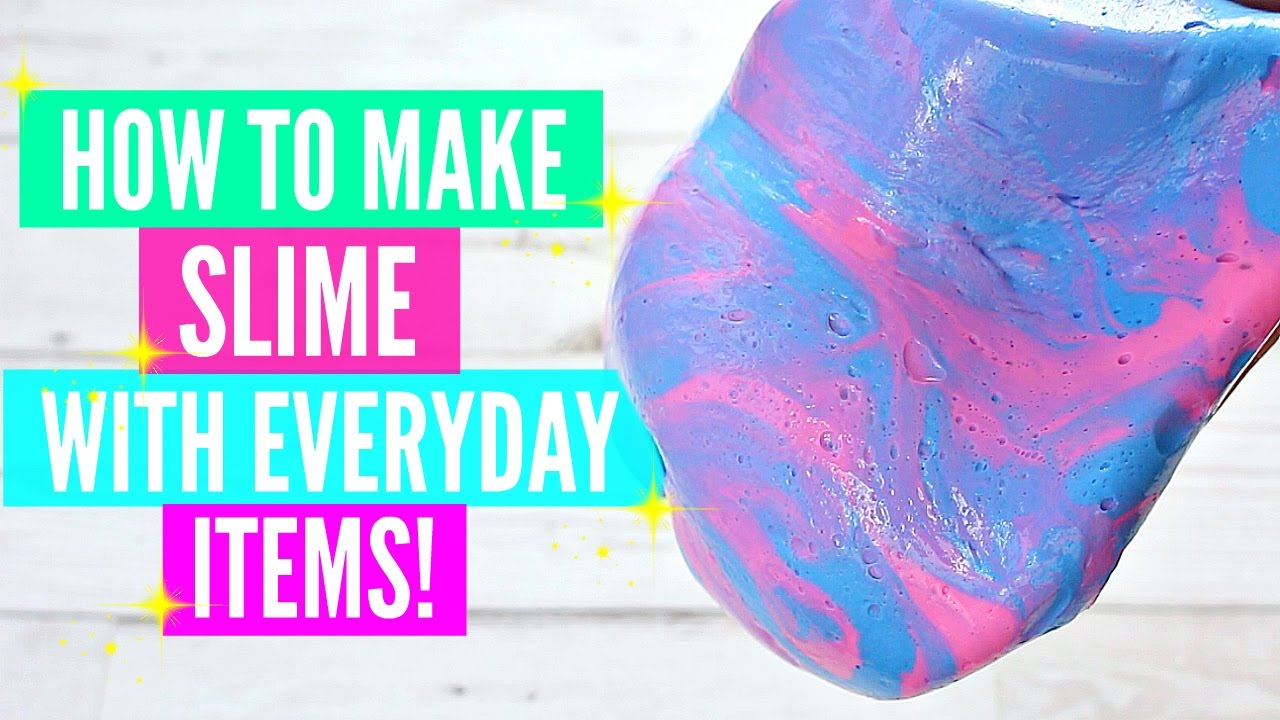 How to make slime with everyday home ingredients how to make slime how to make slime with everyday home ingredients how to make slime without pure borax ccuart Images