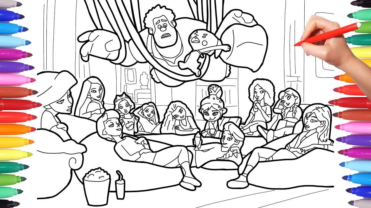 Wreckit Ralph and Disney Princesses