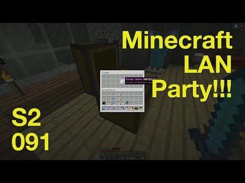 Minecraft LAN Party! 2 Ep. 91 - Notch Apple