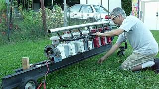 Exhaust Manifold Run on 7 Cyl. Briggs