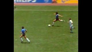 El mejor gol de la historia a los ingleses esta vez lo hace Valdano