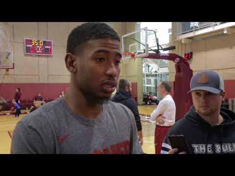 OU Basketball - Rhode Island - Christian James