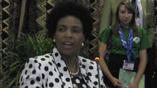 YOUNGO Briefing with COP 17 President Maite Nkoana-Mashabane