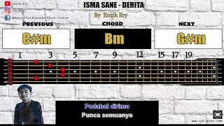 Gambar cover Isma Sane - Derita [ Minus One Karaoke Intrumental + Guitar Chord with Tabs ]