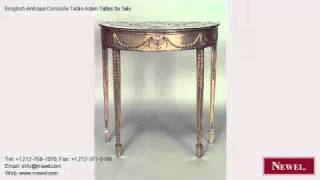 English Antique Console Table Adam Tables For Sale
