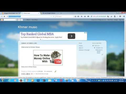Fix Adsense Host Put code on blogger can't show Ads  khmer