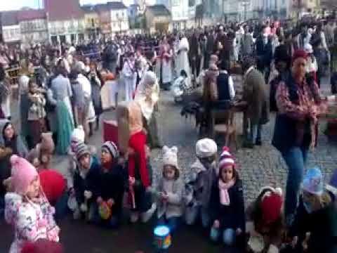 Unas 600 personas se vuelcan con el belén viviente de Los Escolapios de Monforte