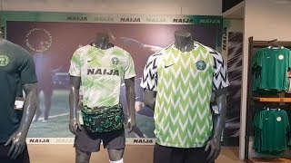 World Cup 2018: Nigeria fans search for hard-to-find jerseys