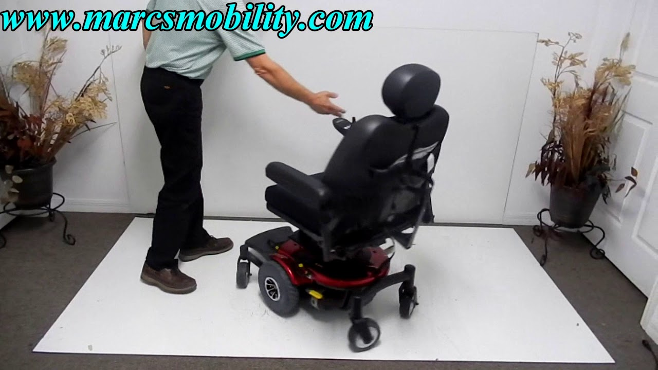 Pride J6 Power Chair - Used Pride J6 Wheel Chair on