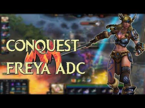 Smite - Conquista Freya ADC - Carry Carry Carryyy, Feedou já era.