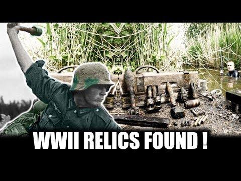 Magnet fishing WW2 Part 2  ammo / grenades / magazine   METAALDETECTOR NEDERLAND