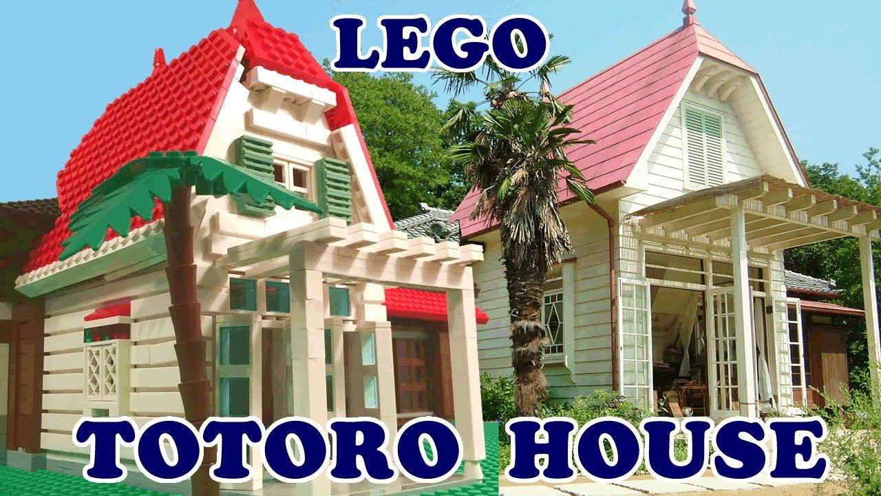 Real Life Lego House Lego House From Totoro Japanese House Model Youtube