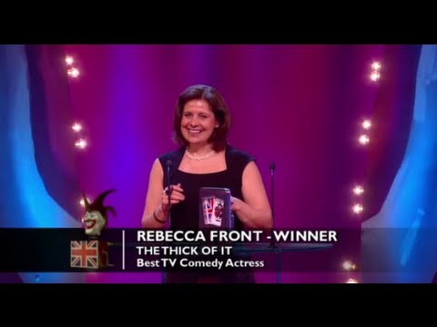 Best TV Comedy Actress: Rebecca Front | British Comedy Awards 2012