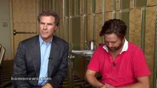 Will Farrell and Zach Galifianakis visit Seattle