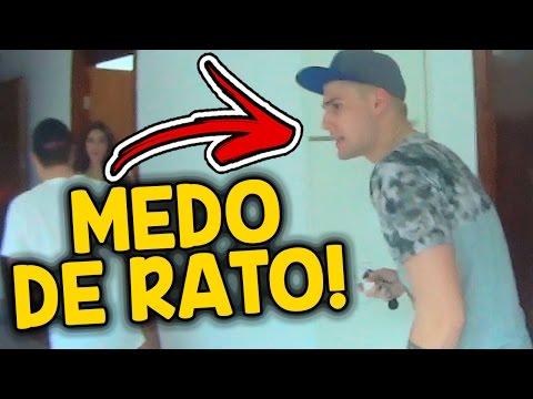 UM RATO INVADIU A CASA DO REZENDE EVIL !!!