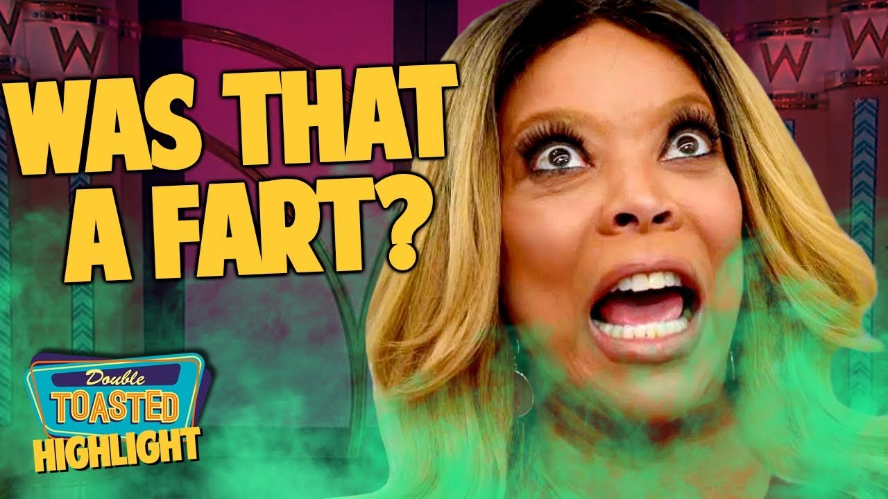 WENDY WILLIAMS FARTS ON LIVE TV AND THEN INSULTS JOAQUIN PHOENIX | Double Toasted