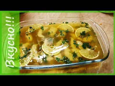 Как сделать заливное из рыбы. Для ленивых хозяек))). Заливное из рыбы судака всего за 30 минут!