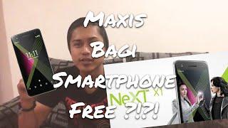Maxis bagi smartphone FREE !!!