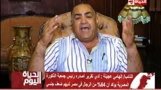 بالفيديو| إلهامي عجينة: 50% من المصريين مصابون بضعف جنسي