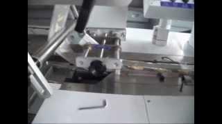 Серво приводная (3 серво) горизонтальная упаковочная машина HDL-250SX