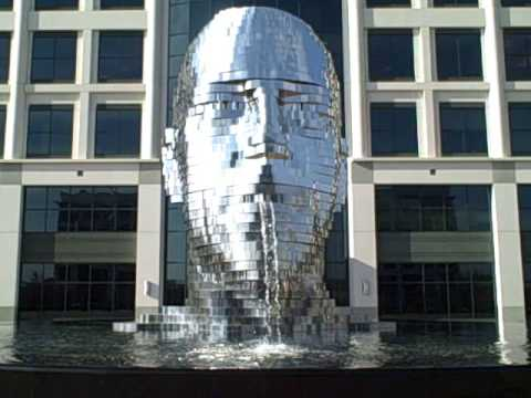 Metalmorphosis Sculpture by David Cerny
