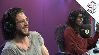 Кит Харингтон на радио разговаривает с самой преданной фанаткой