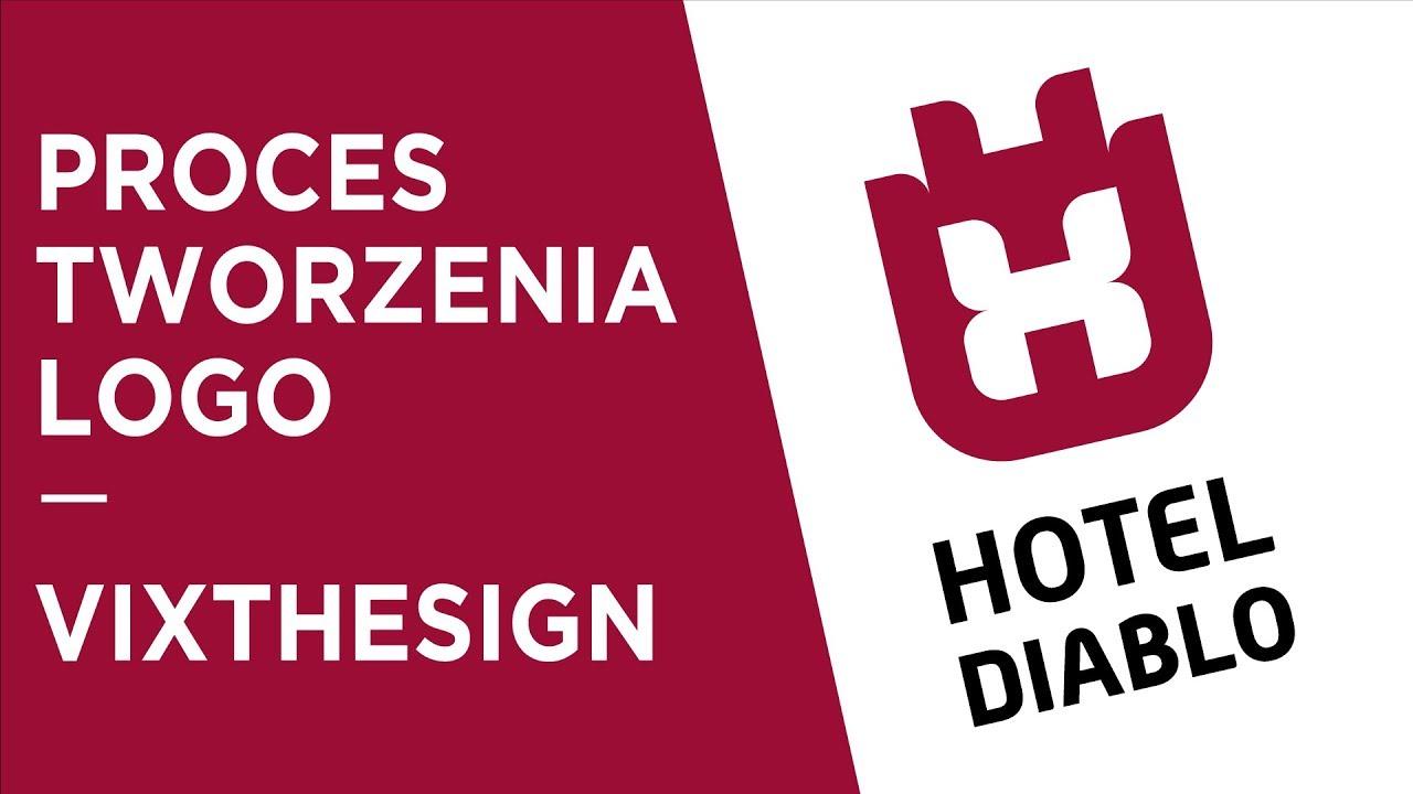 Hotel Diablo Logo - Proces tworzenia image