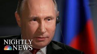 megyn kelly preview russian president vladimir putin discusses kushner flynn nbc nightly news