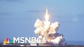 This Is History In The Launching.   Ali Velshi   MSNBC