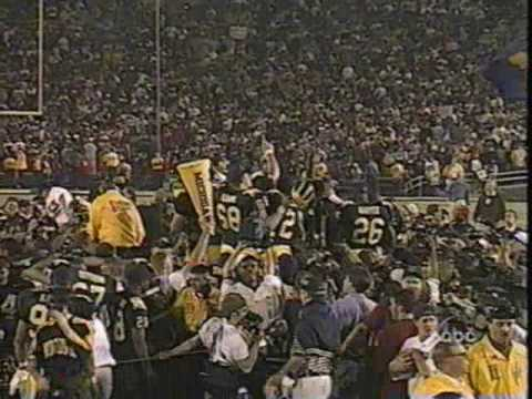 1998 Rose Bowl: Michigan 21 WSU 16 (PART 3)