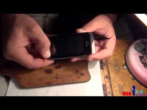 Nokia Asha 308 не работает сенсор