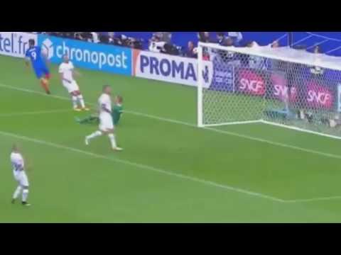 France vs Iceland (5-2) Euro 2016 . Highlights 3/7