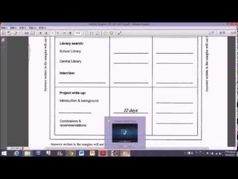 DSE English DSE Practice Paper Paper III Task 1 - YouTube