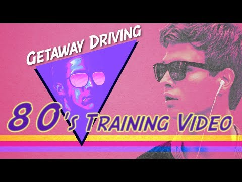 Getaway Driving (80's Training Video)