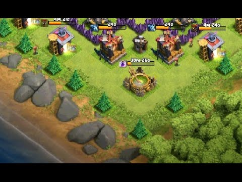 Clash of Clans: How To Spawn Trees On Edge of Base