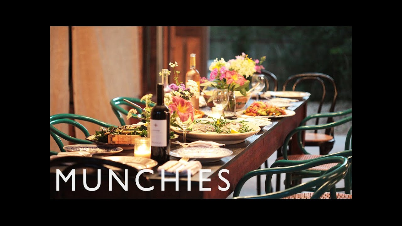 The Perfect Birthday Dinner Party The Dinner Bell Youtube