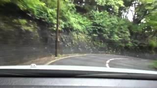 高知市の筆山、霊園入口まで行って折り返し.