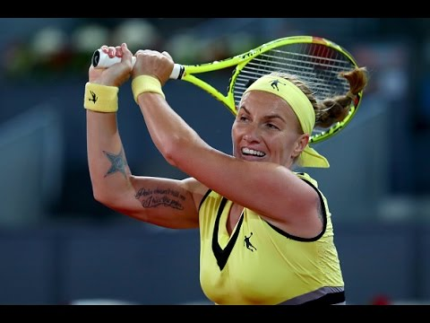 2017 Mutua Madrid Open Quarterfinals | Svetlana Kuznetsova vs Eugenie Bouchard | WTA Highlights