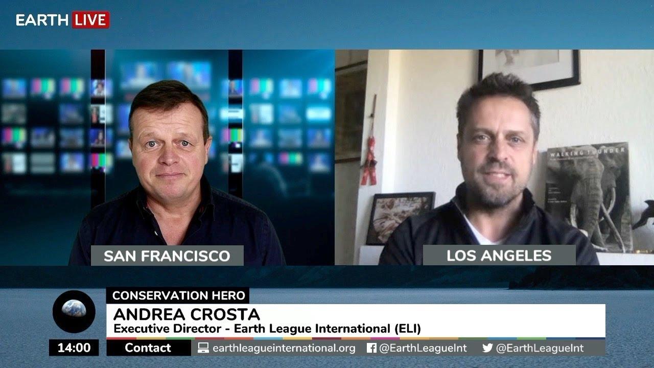 Andrea Crosta, Executive Director of Earth League International