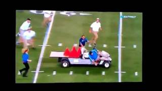 Al Michaels, Cris Collinsworth Call the Runaway Cart