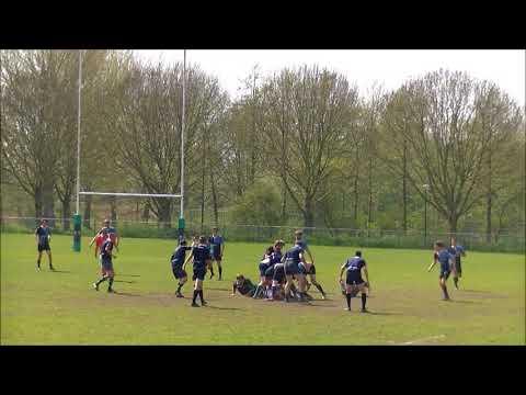 Gouda - S.V.R.C. Rugby 23-04-2018